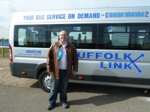I battled to bring the Suffolk Link Community Bus cover to Lakenheath & parts of Row Heath, now for the rest!