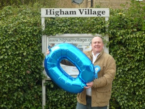 Out on the campaign trail in Higham