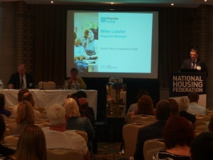 Chairing Supporting People or Social Care? session at NHF Conference