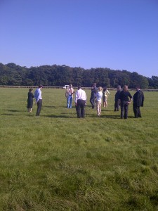 on Newmarket Warren Hill Gallops