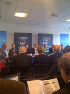 Eastern Region European Candidates at launch of Conservative Euro Election Manifesto