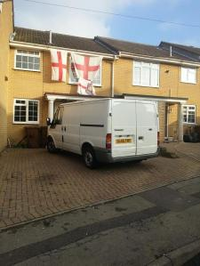 White Van Image from Rochester By Election 2014