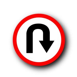 u-turn symbol