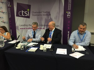 2015_10_07 Speaking at Trading Standards Fringe at Conservative Party Conference